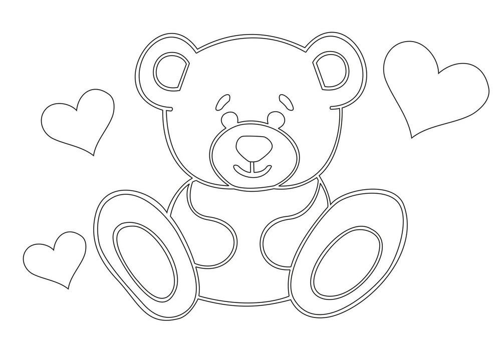 красивой медвежонок рисунки карандашом кран американкой