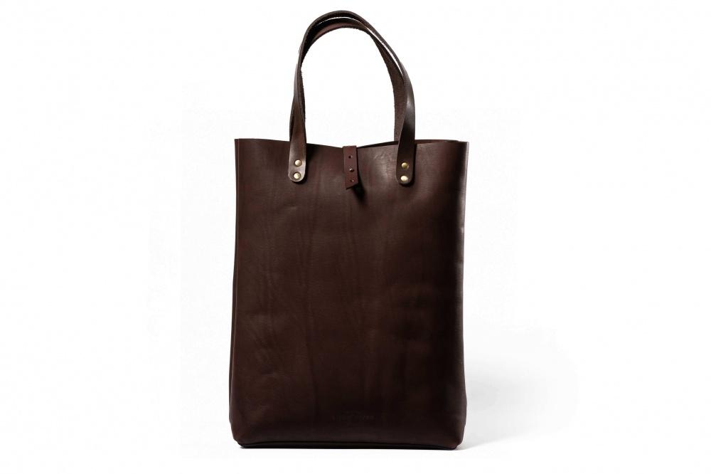 купить сумку шоппер из натуральной кожи недорого