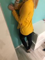 горчично желтый