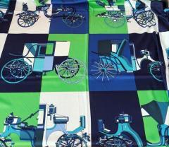 Зелено-синяя