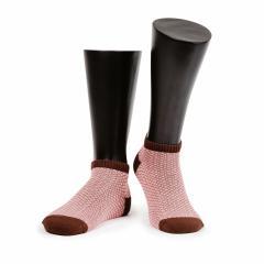 грязно-розовый с коричневым (39-42 - 2шт., 42-45 - 1 шт.)