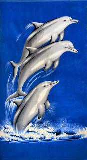 -Три дельфина