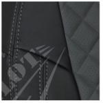 Черный+Темно-серый РОМБ