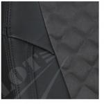 Черный+Алькантара Темно-серый РОМБ