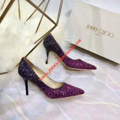 фиолетовый/черный