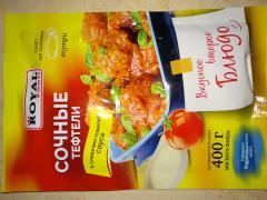 сочные тефтели в сливочно-томатном соусе