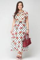 Платье 100-7792-9 Белый 50-56