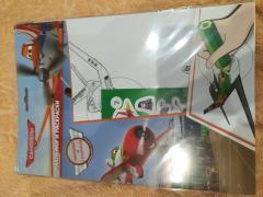 Самолёты (зелёный карандаш)