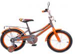 серо-оранжевый неон LED