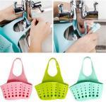 подвесной кармашек на кран, ванной или на кухне