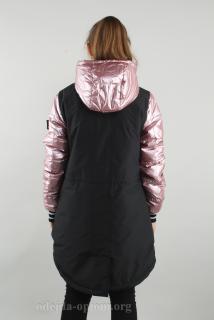 -розово-черный