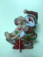 Дед Мороз с грамотой