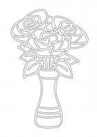 257 Букет роз