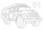 076 Пожарная машина