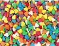 сердечки разноцветные мини
