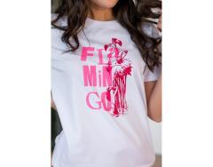белый фламинго