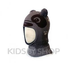 -панда-коричневый