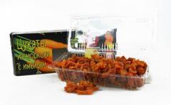 Из моркови с имбирём