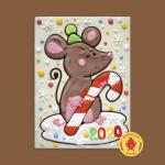 Мышка с карамелькой