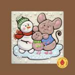 Мышки и снеговик