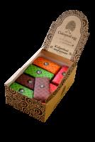 марципан ассорти (классика-клюква- облепиха-шоколадный)  желамый вкус пишите в комментариях (но если его нет, кладу то, что есть)