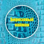 Бирюзовый кайман