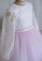 -белый розовый