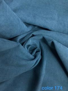 -бирюзово-синий