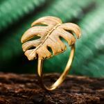 Регулируемое кольцо (в серебре или позолоте)