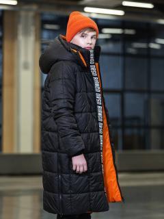 черный оранжевый