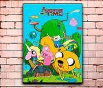-Постер с изображением героев мультсериала