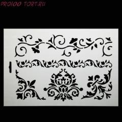 -Трафарет для декорирования торта ТР-9