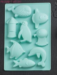 -Форма для льда и шоколада, 8 ячеек, 14х9,5х1,5 см