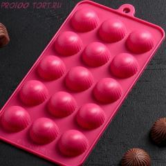 -Форма для шоколада и карамели КОНФЕТЫ