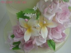 -Паста сахарная цветочная белая