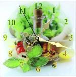Часы Кухня Размер: 30*30 см. Количество кристаллов: 278
