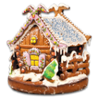 -пряничный домик 1200 гр