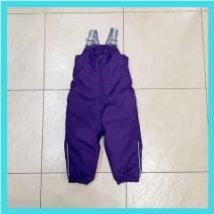 Фиолетовый полукомбинезон