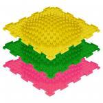 -розовый, зеленый, желтый