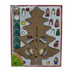 Новогодняя ёлочка-раскраска с игрушками- ВВ3732