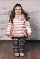 куртка:персиковая пудра полукомбинезон:инжир