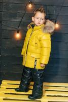 куртка:восковой желтый полукомбинезон:черный