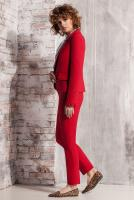 брюки 4567 красный