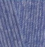 374, голубой меланж